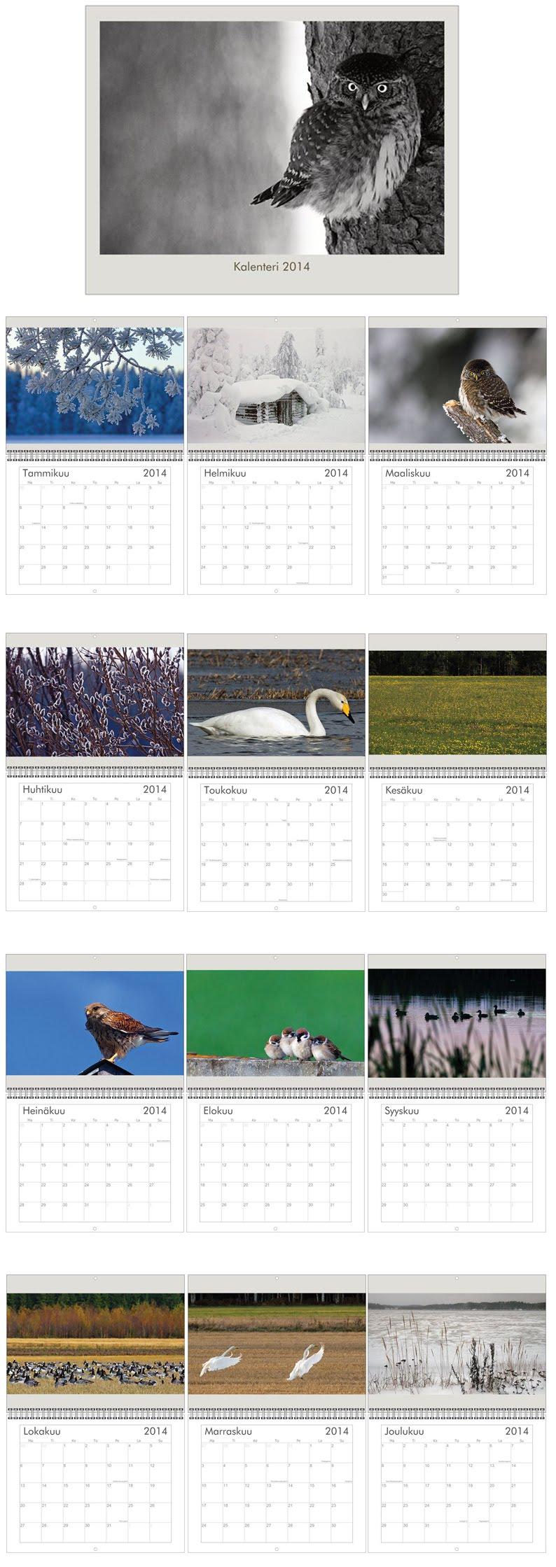 Kalenterikuvat 2014