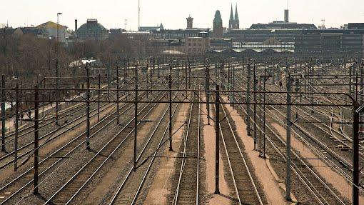 Helsingin ratapiha pitkäperjantaina 2014
