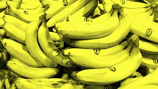 Bananas, inspired by Andy Warhol