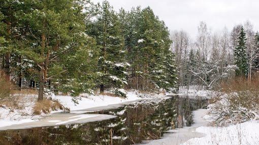 Vantaanjoki helmikuussa 2016